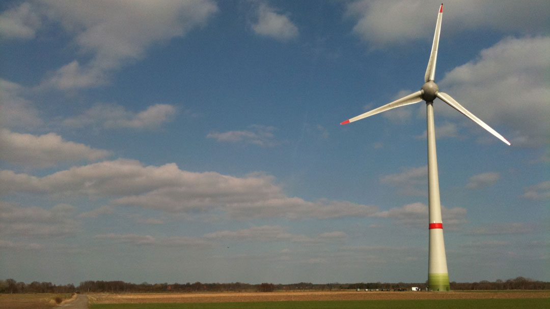 Mega windmolens in de flevopolder