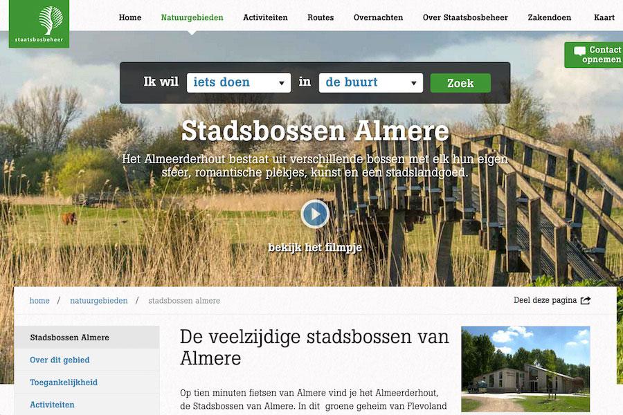 Stadsbossen Almeerderhout