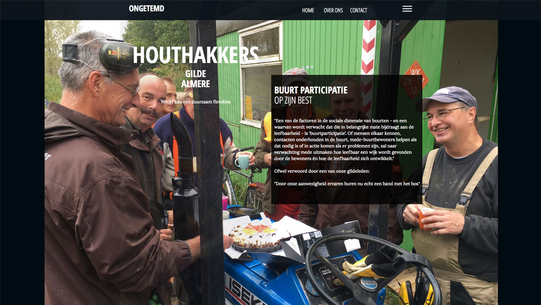houthakkers gilde almere hout