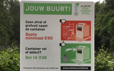 Afval containers