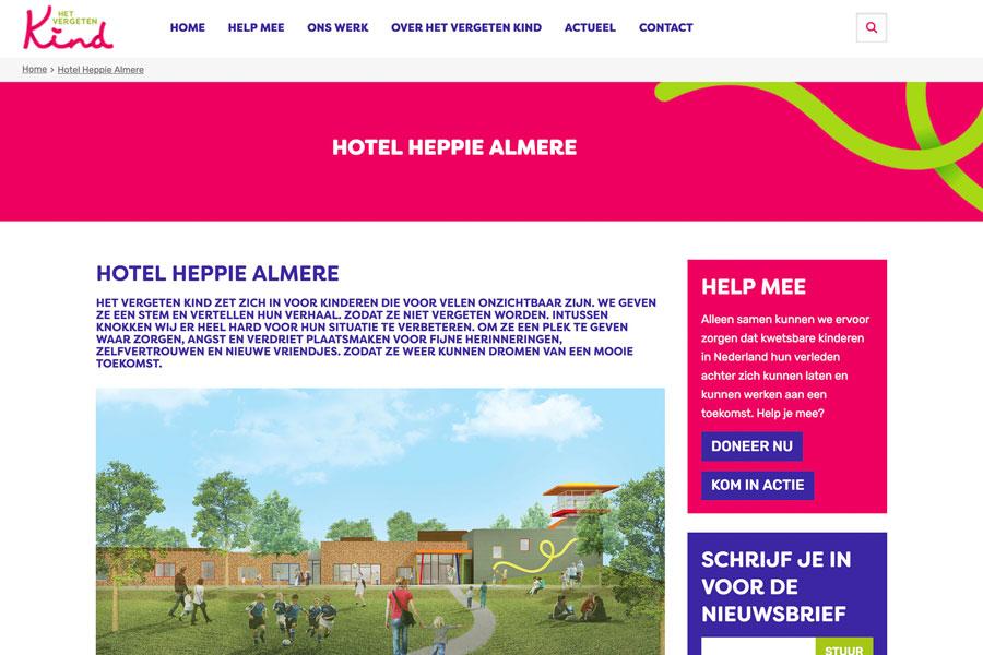 Nieuwbouw Hotel Heppie