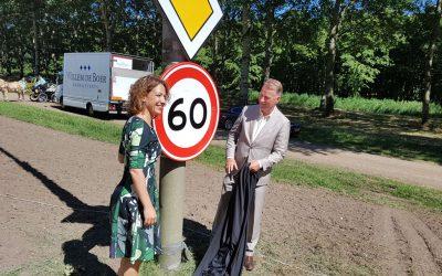 Opening rotondes Vogelweg
