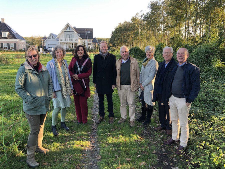 Wethouder bezoekt Vogelhorst